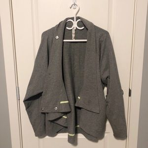 Lululemon grey Wrap Sweater 🌟